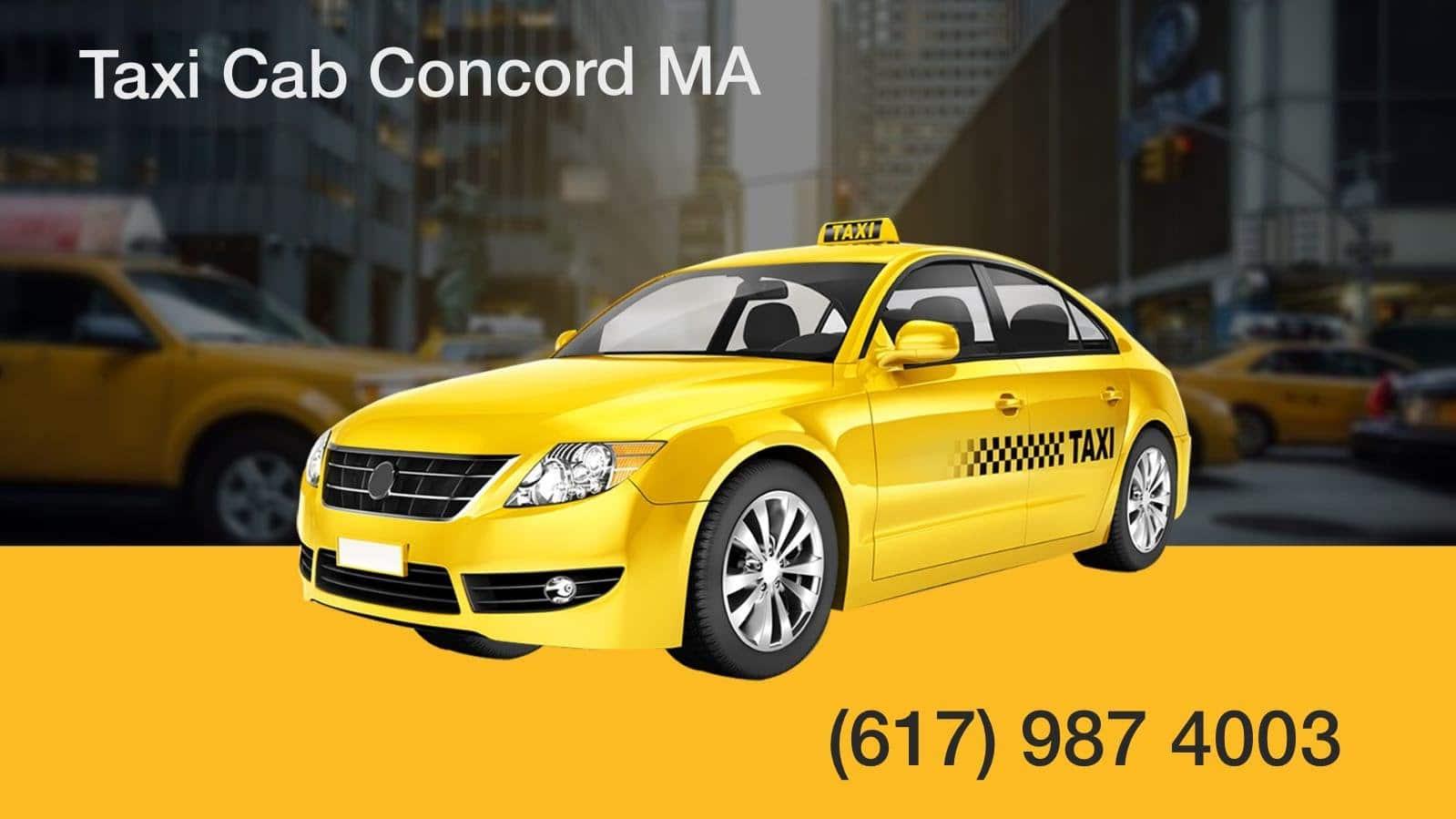 Concord ma Airport Taxi Cab Service