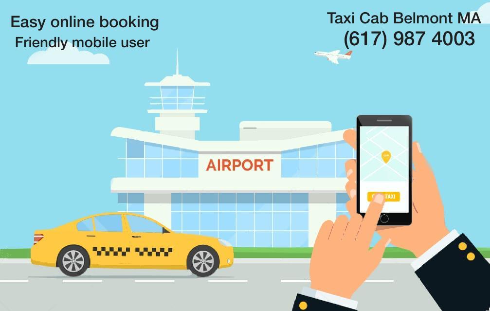 belmont ma taxi cab