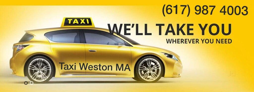WESTON MA AIRPORT TAXI CAB & CAR SERVICE