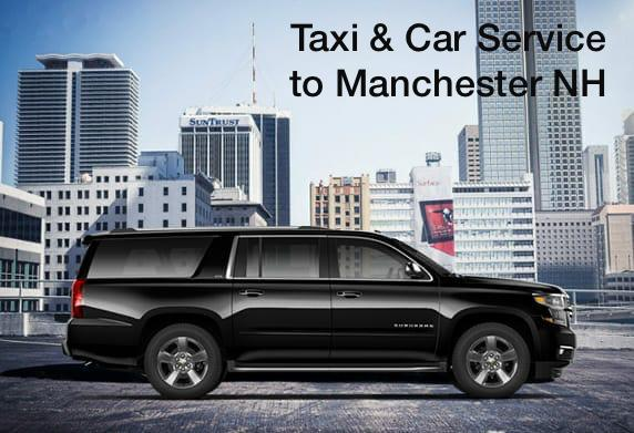 Boston taxi cab to Manchester NH