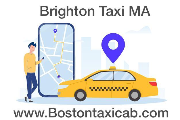 Brighton Taxi Cab to Boston airport